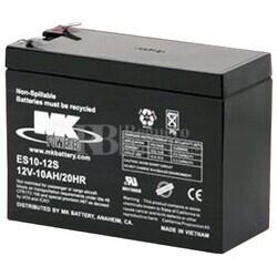 Bateria 12 Voltios 10 Amperios MK ES10-12S
