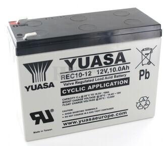 Batería 12 Voltios 10 Amperios Yuasa REC10-12