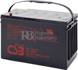 Batería 12 Voltios 100 Amperios Csb GPL121000
