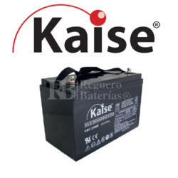 Batería 12 Voltios 100 Amperios Kaise Ciclo Profundo KBC121000