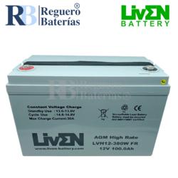 Batería 12 Voltios 100 Amperios LVH12-380WFR