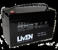 Batería 12 Voltios 100 Amperios LVL100-12