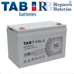 Batería 12 Voltios 100 Amperios TAB 5GVRLA100