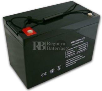 Batería 12 Voltios 100 Amperios U-power UP100-12