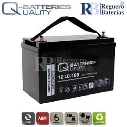 Batería 12 Voltios 107 Amperios 12LC-100 Alta Potencia