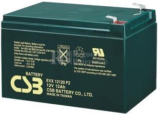 Batería 12 Voltios 12 Amperios Csb EVX12120F2