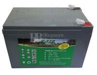 Batería 12 Voltios 12 Amperios Gel para Bicicletas Eléctricas  EV12-12