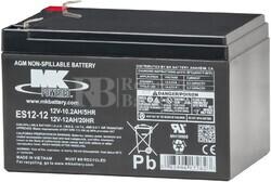 Bateria 12 Voltios 12 Amperios MK ES12-12