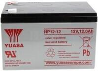 Batería 12 Voltios 12 Amperios Yuasa NP12-12
