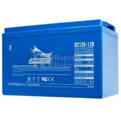 Batería 12 Voltios 120 Amperios Fullriver DC120-12B