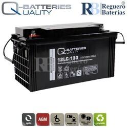 Batería 12 Voltios 128 Amperios 12LC-130 Alta Potencia