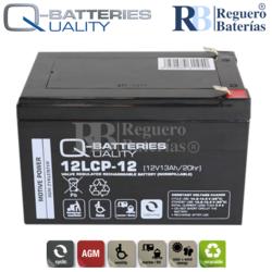 Batería 12 Voltios 13 Amperios 12LCP-12 Cíclica