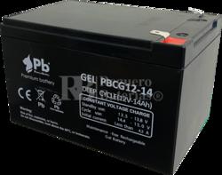 Batería de Gel 12 Voltios 14 Amperios PBCG12-14