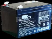 Bateria 12 Voltios 14 Amperios MK ES14-12