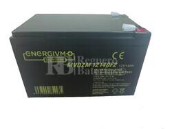 Batería 12 Voltios 14 Amperios para Bicicletas Eléctricas MVDZM12140