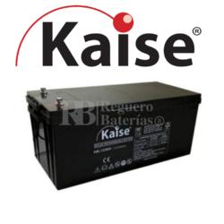 Batería 12 Voltios 150 Amperios Kaise Long Life KBL121500