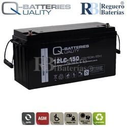 Batería 12 Voltios 160 Amperios 12LC-150 Alta Potencia
