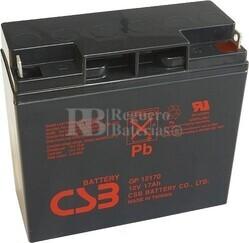 Batería 12 Voltios 17 Amperios Csb GP12170
