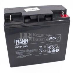 Batería 12 Voltios 18 Amperios Fiamm FG21803