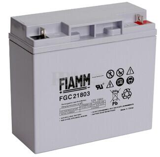 Batería 12 Voltios 18 Amperios Fiamm FGC21803 Alta Descarga