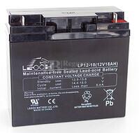 Batería 12 Voltios 18 Amperios Leoch LP12-18