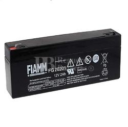 Batería 12 Voltios 2,0 Amperios Fiamm FG20201