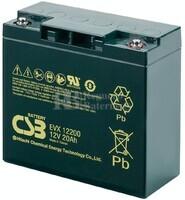 Batería 12 Voltios 20 Amperios Csb EVX12200