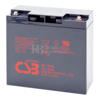 Batería 12 Voltios 20 Amperios Csb GP12200