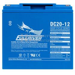 Batería 12 Voltios 20 Amperios DC20-12 Fullriver