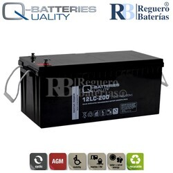 Batería 12 Voltios 214 Amperios 12LC-200 Alta Potencia