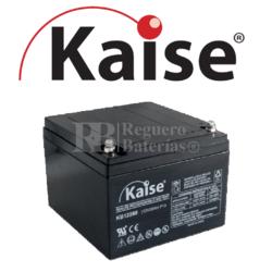 Batería 12 Voltios 24 Amperios Kaise KB12260