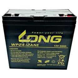 Batería 12 Voltios 24 Amperios Long WP24-12ANE