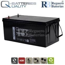 Batería 12 Voltios 243 Amperios 12LC-225 Alta Potencia
