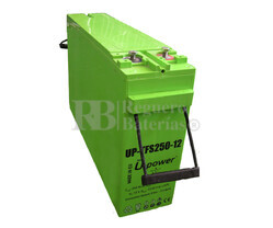 Batería 12 Voltios 250 Amperios Frontal S/ Mantenimiento TFS250-12