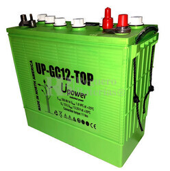 Batería 12 Voltios 260 Amperios U-Power UP-GC12TOP