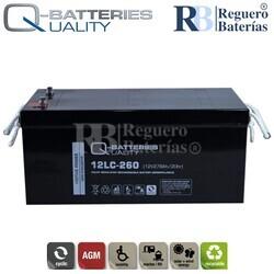 Batería 12 Voltios 278 Amperios 12LC-260
