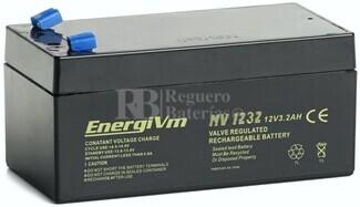 Batería 12 Voltios 3,2 Amperios Energivm MV1232