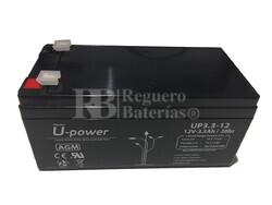 Batería 12 Voltios 3,3 Amperios UP3.3-12