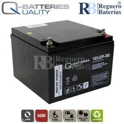 Batería 12 Voltios 30 Amperios 12LCP-30 Cíclica