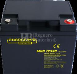 Batería 12 Voltios 33 Amperios MVD12330