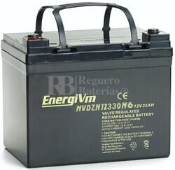 Batería 12 Voltios 33 Amperios MVDZM12330