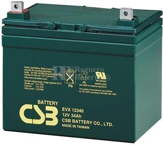 Batería 12 Voltios 34 Amperios Csb EVX12340