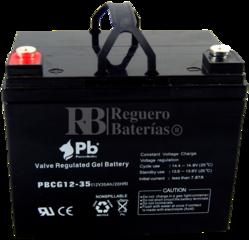 Batería 12 Voltios 35 Amperios Gel PBCG12-35