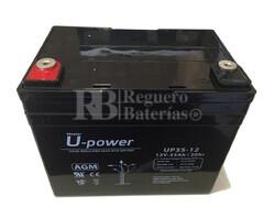 Batería 12 Voltios 35 Amperios U-Power UP35-12