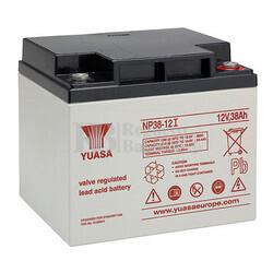 Batería 12 Voltios 38 Amperios Yuasa NP38-12I