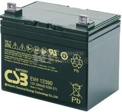 Batería 12 Voltios 39 Amperios Csb EVH12390