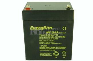 Batería 12 Voltios 4.5 Amperios ENERGIVM MV1245