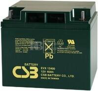 Batería 12 Voltios 40 Amperios CSB EVX12400
