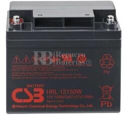 Batería 12 Voltios 40 Amperios CSB HRL12150W