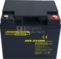 Batería 12 Voltios 44 Amperios Energivm MVH12440M6